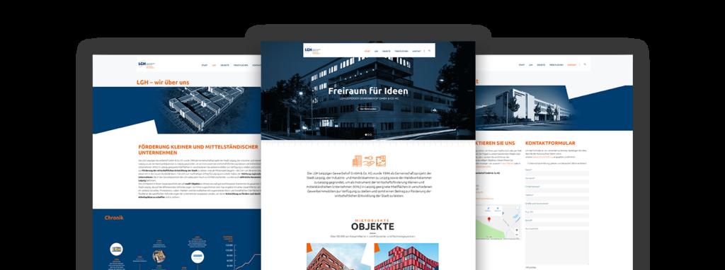 Webdesign LGH