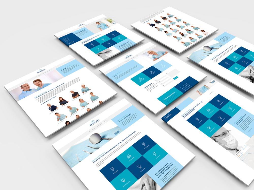 Webdesign-Zahnarzt-Bonnekamp
