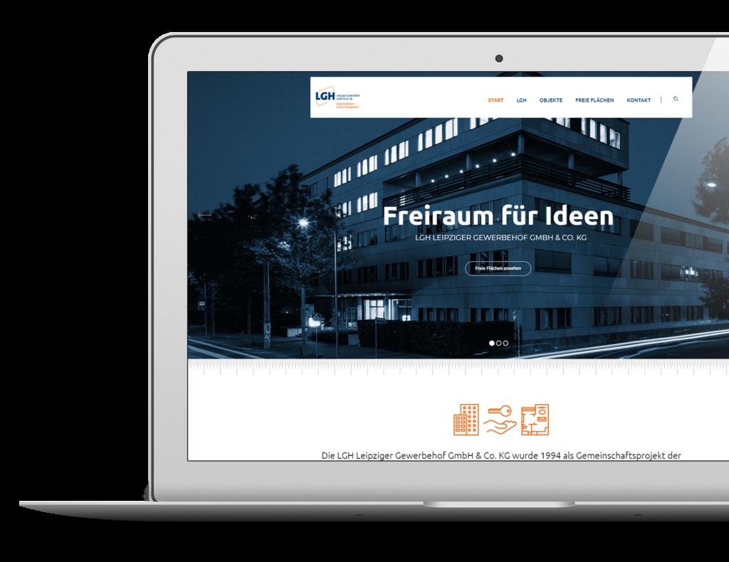 Webdesign WordPress LGH